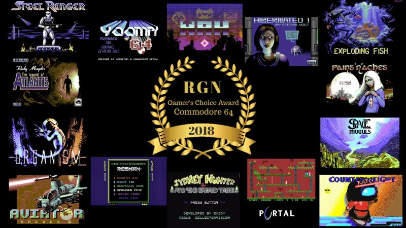 Commodore 64 Gamer's Choice Award 2018 Poll [VOTING HAS