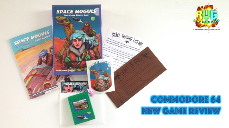 Space Moguls - New C64 Game Review  - RVG