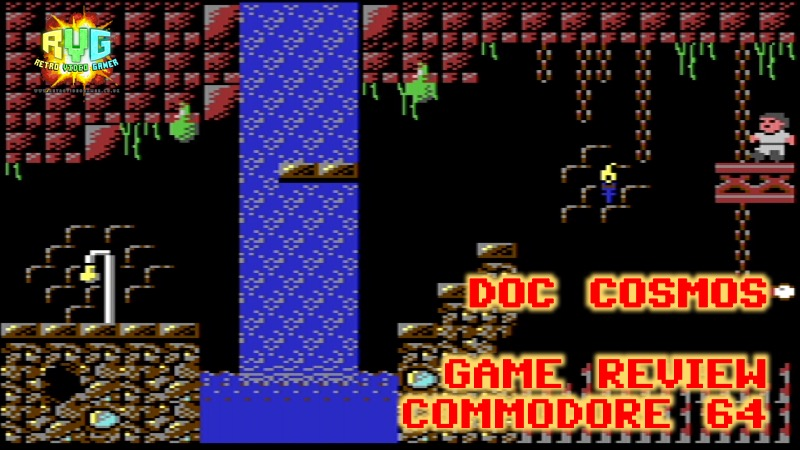 Doc Cosmos - C64 Game Review  - RVG