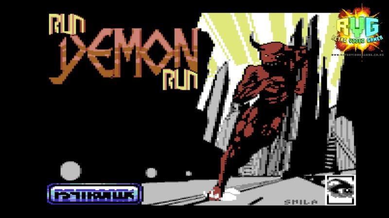 Run Demon Run - C64 Game Review - RVG