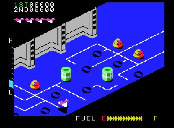 Games - Zaxxon